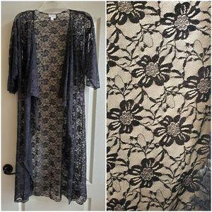 Lularoe Shirley lace kimono